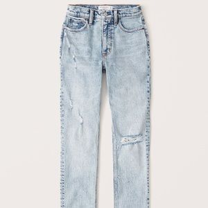 Abercrombie and Fitch 90s High Rise Skinny Jeans